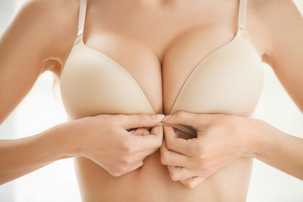 Breasts that complement the woman's body