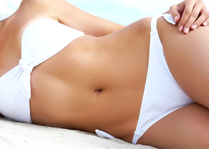 Liposuction can give you a flatter stomach